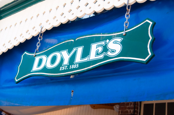 FISH & CHIPS LUNCH AT DOYLES
