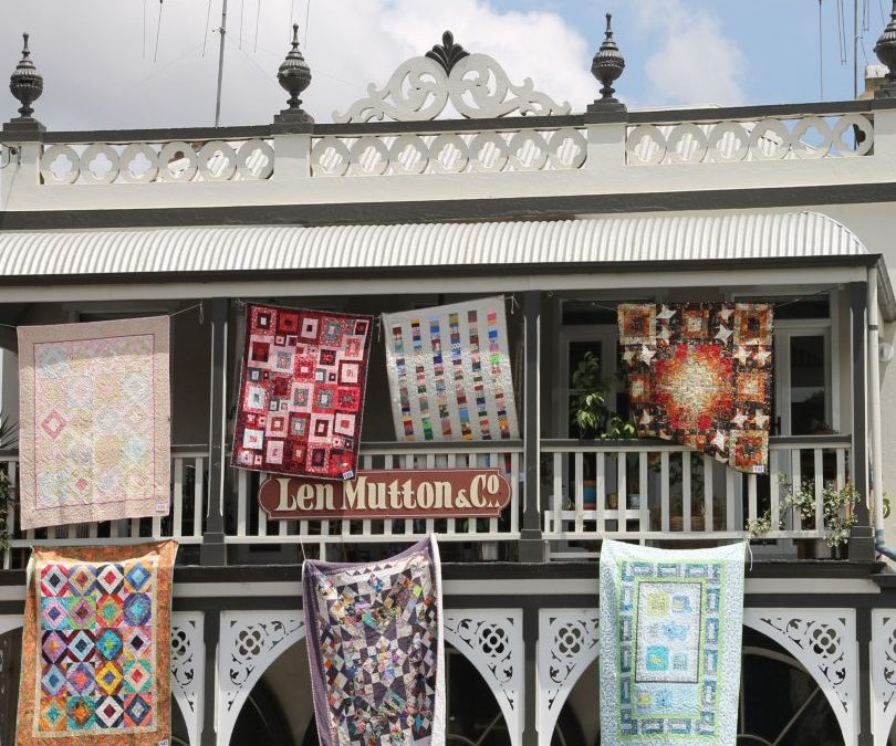 AIRING OF THE QUILTS BRAIDWOOD